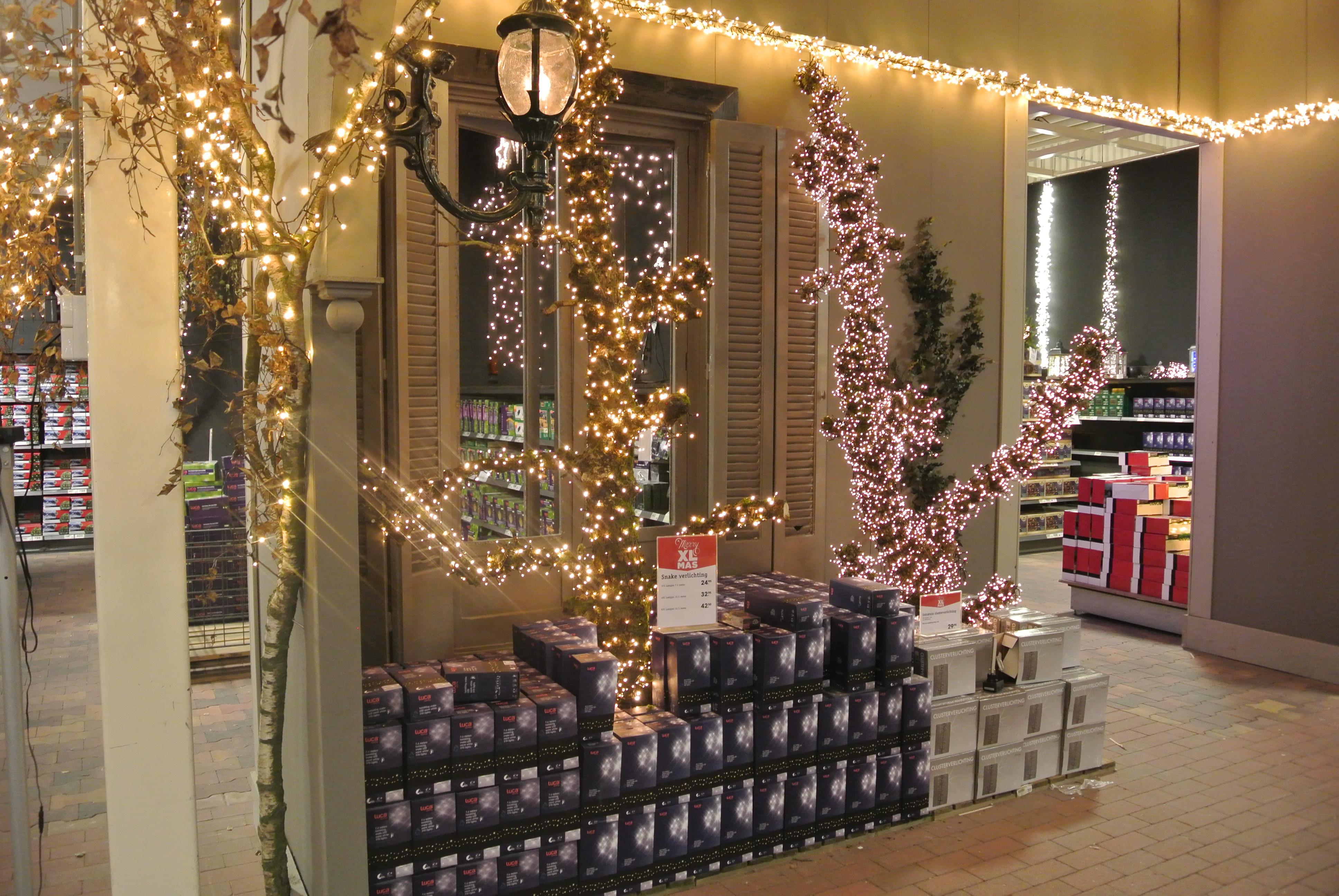 Kerstspullen droomburcht - Buitenkant thuis ...